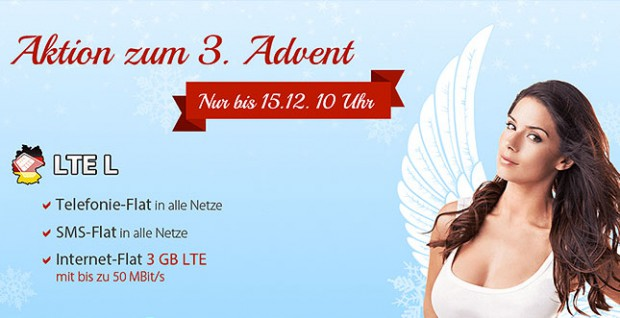 3. Advent - LTE Allnet-Flat Aktion