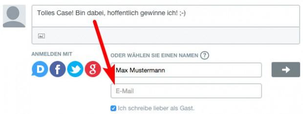 Verlosung-Email-hinterlassen