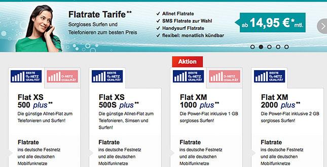 Allnet Flat 14,95 Euro
