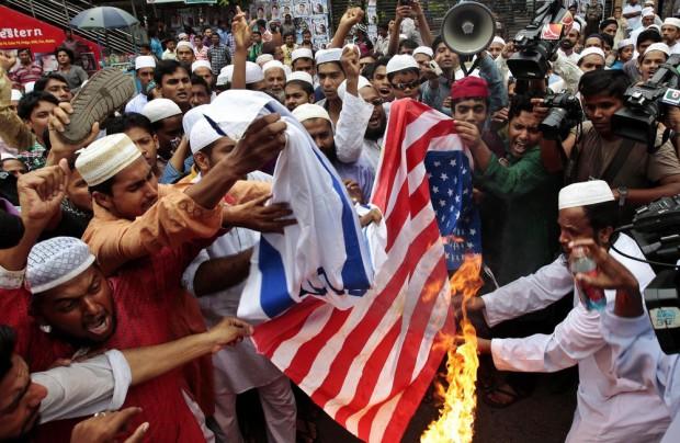 Bangladesh Prophet Film Protest