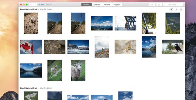 Apple Photos: So sieht der Nachfolger von iPhoto aus