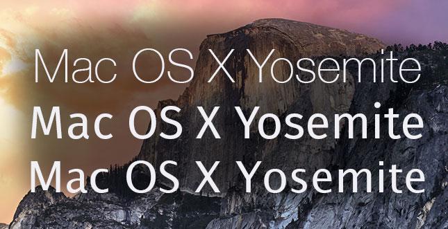 Anleitung: Yosemite Systemschriftart auswechseln / pimpen