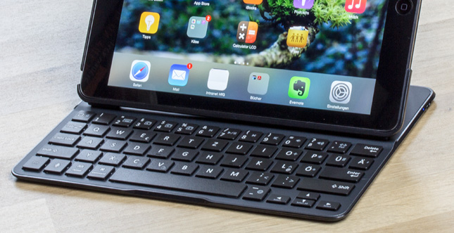 Belkin QODE™ Ultimate Tastatur-Case für iPad Air im Test