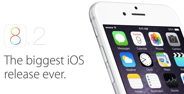 iOS 8.2 Download ab sofort verfügbar + Apple Watch Support