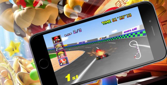 Nintendo-Spiele & Mario bald offiziell auf Smartphones