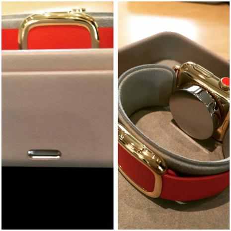 unboxing verpackung der apple watch edition f r l weblogit. Black Bedroom Furniture Sets. Home Design Ideas