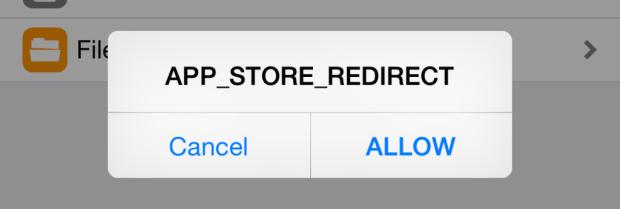 app-store-weiterleitung