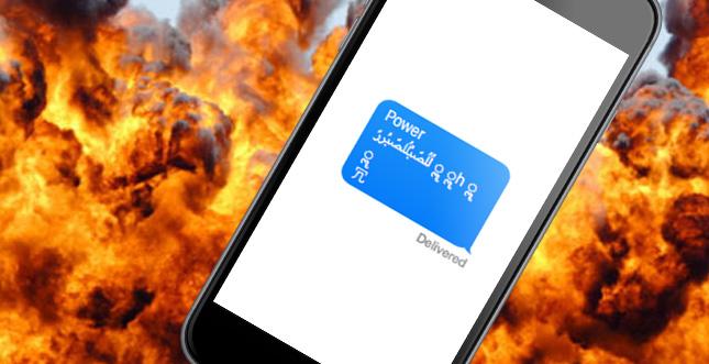 """""""iMessage des Todes"""": iOS-Bug lässt iPhone-App wiederholt abstürzen"""