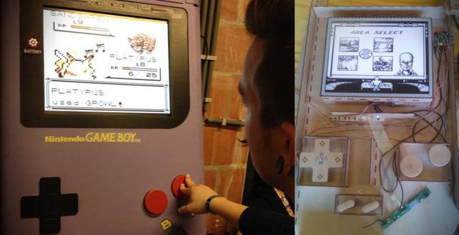 Weltgrößter GameBoy auf Basis von Raspberry Pi