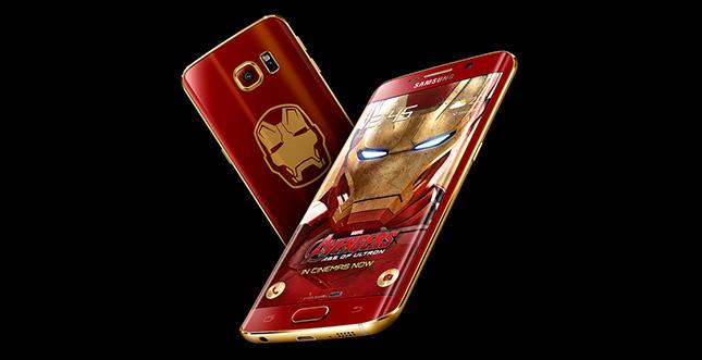 "Galaxy S6 Edge ""Iron Man Edition"" angekündigt"