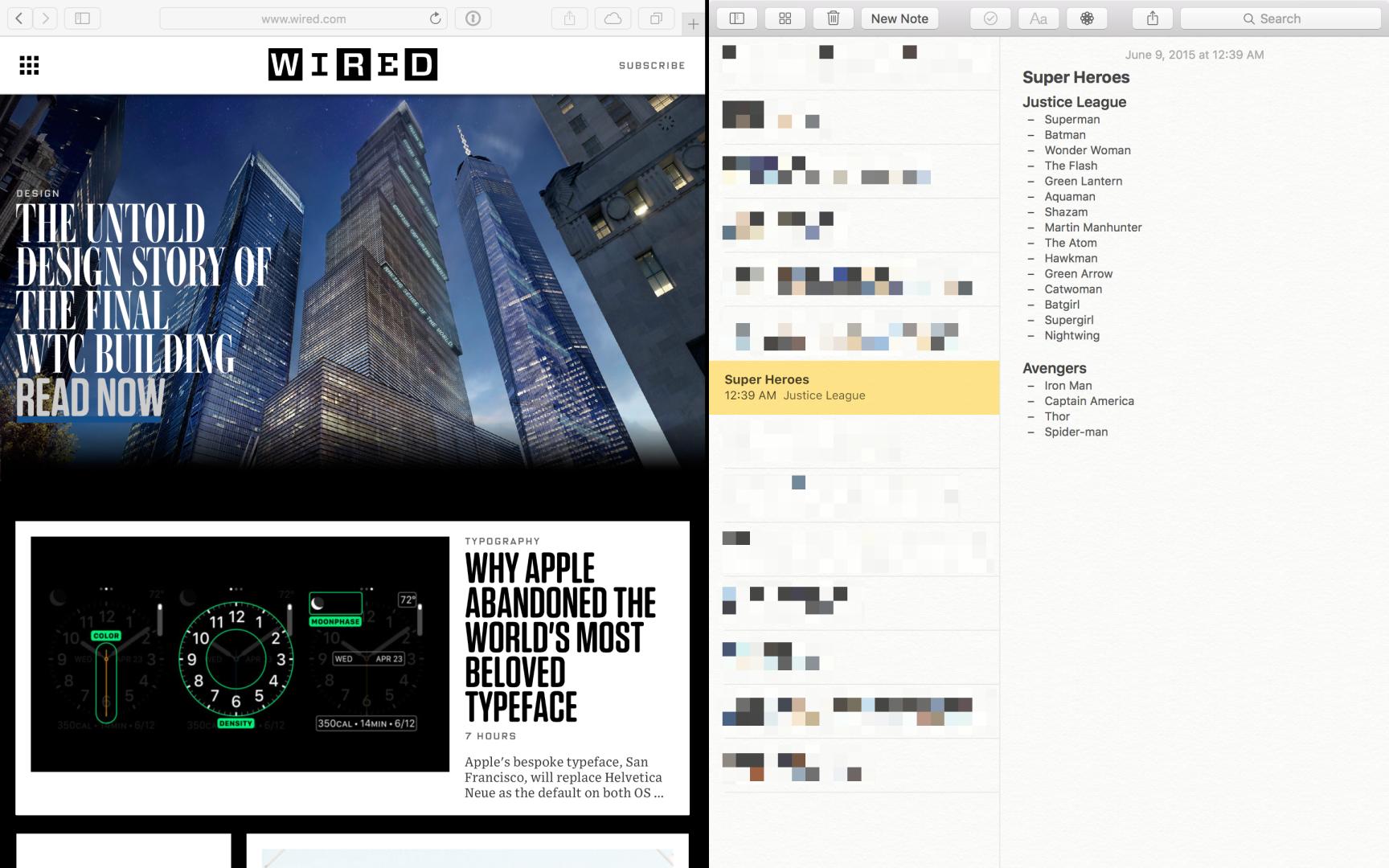 Splitscreen Fenstermanagement ohne Titelleisten