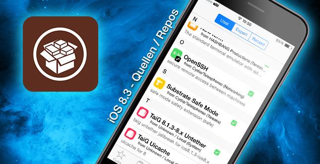Top Cydia Repos (Quellen) für den iOS 8.3 Jailbreak