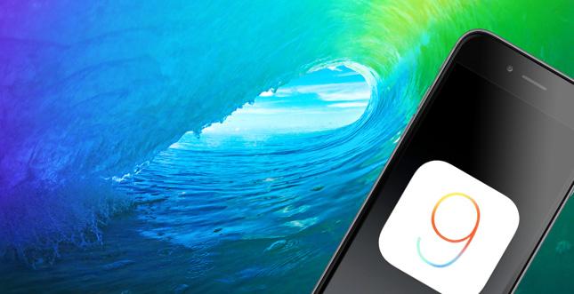 iOS 9: Wallpaper Download (offizielles Motiv)