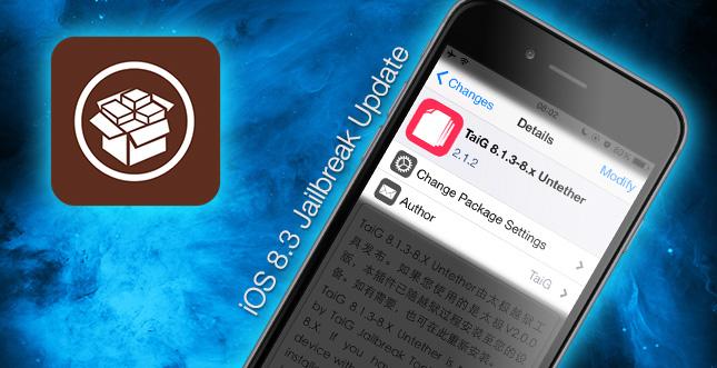 iOS 8.3 Jailbreak: Taig 2.1.2 und Untether Update