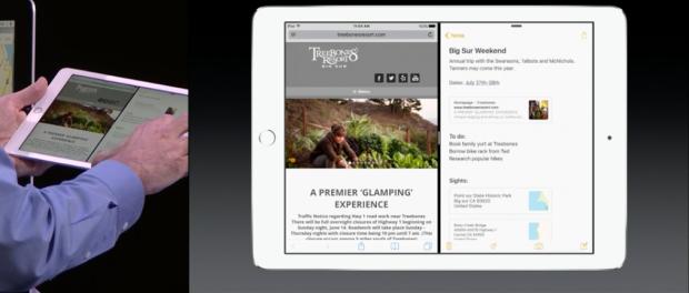 iOS 9 Splitscreen auf dem iPad