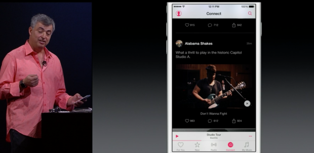 Apple Music: Connect