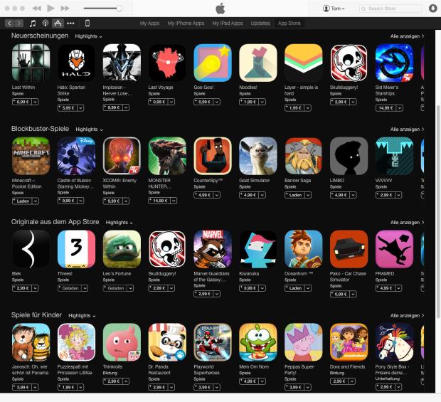 Spiele ohne In-App-Käufe