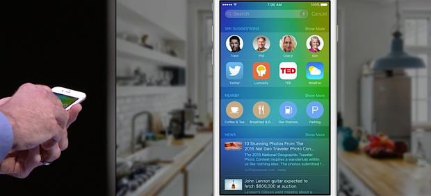 iOS 9 Intelligence: Siri Vorschläge
