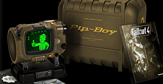 Fallout 4 Collectors Edition: Pip-Boy als Gimmick dabei