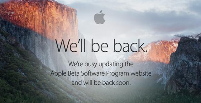 """iOS 9 & OS X 10.11 """"El Capitan"""": Öffentliche Beta ab heute"""