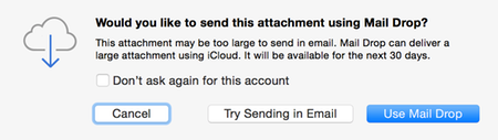 Apple Mail Drop