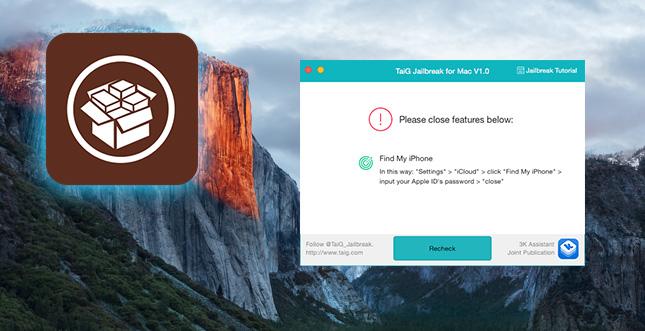TaiG Jailbreak: Mac Download jetzt verfügbar