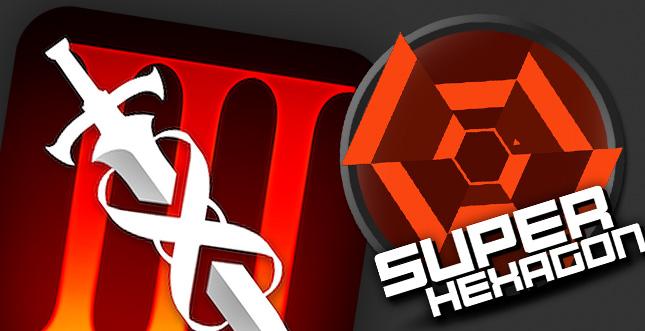 Infinity Blade III & Super Hexagon für iOS gratis laden