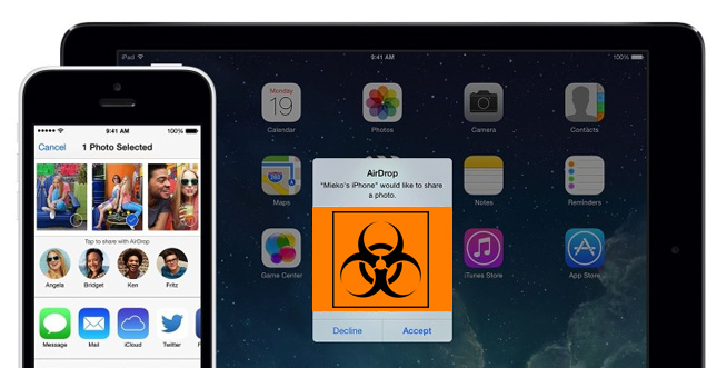 AirDrop-Sicherheitslücke in iOS entdeckt: Update empfohlen