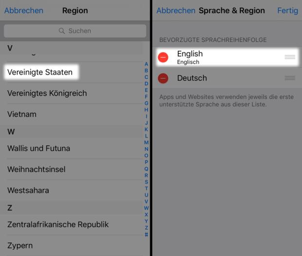 region-und-sprache-umstellen