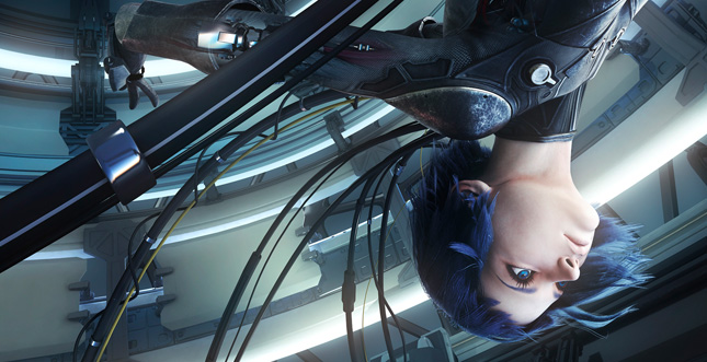 """Ghost in the Shell in 360° VR-3D: """"Virtual Reality Diver"""""""
