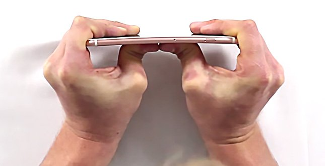 iPhone 6s Plus im Bendtest: Video