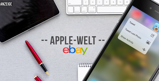 Apple-Welt von Ebay: Stöbern zwischen Neu- & Gebrauchtware
