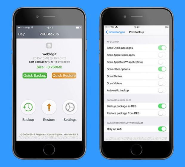 backup erstellen iphone