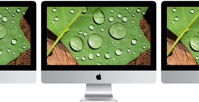 iMac 21,5 Zoll: Drei aktualisierte Modelle inkl. 4K-Display