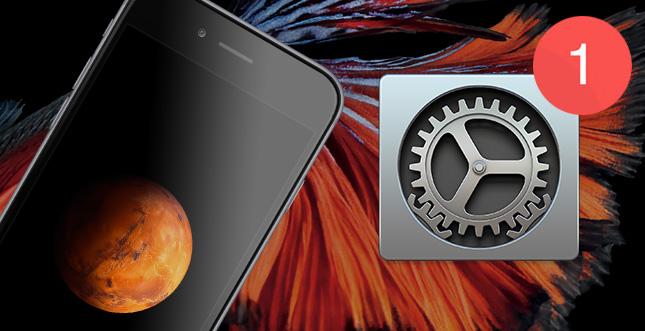iOS 9.2.1 Beta geht an Entwickler raus