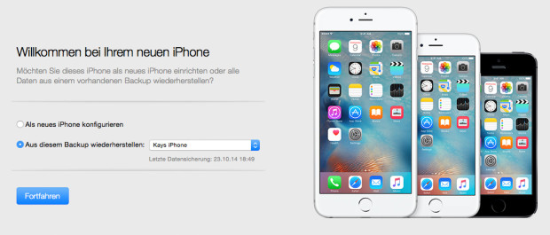 iPhone-Backup-iTunes-installieren