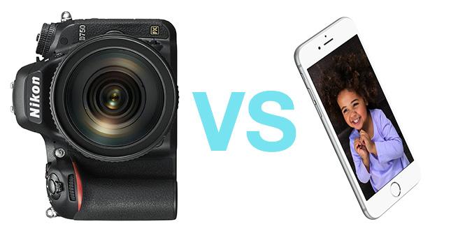 iPhone 6s schlägt 3.000$ Nikon Kamera in 4K Video Test