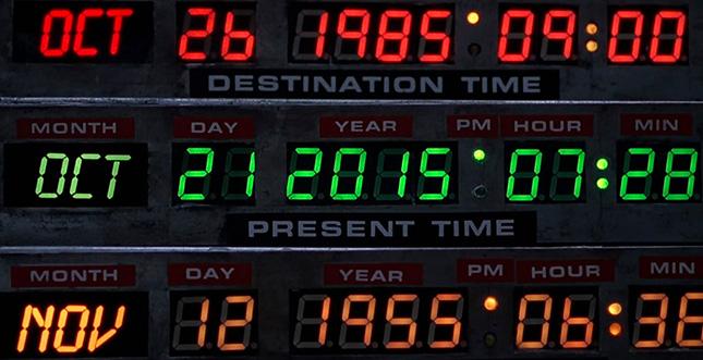 Doc Brown meldet sich zurück aus der Zukunft!