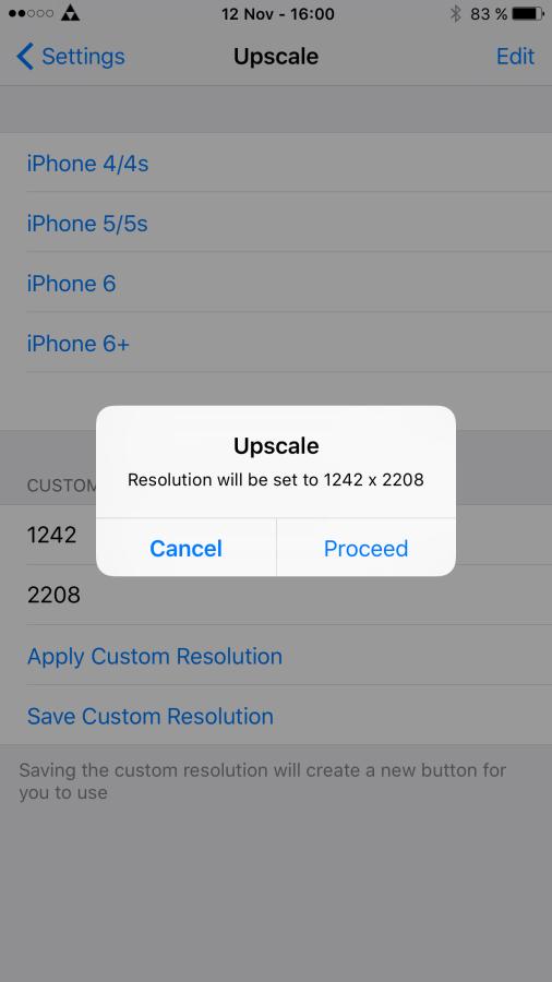 """iPhone 6s Ruckler mit """"Upscale"""" beseitigen"""