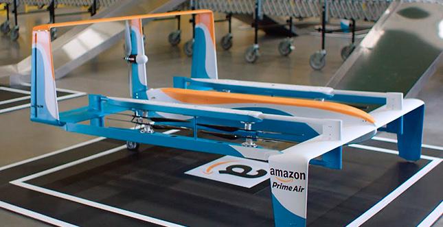 Neues Video zur Lieferung per Drohne: Amazon Prime Air