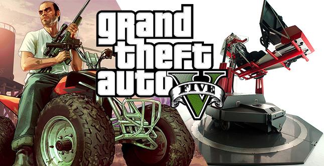GTA 5 mit Hydraulik-Sitz: Geniales Spielerlebnis