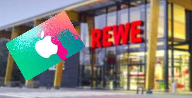 iTunes-Guthaben günstig bei REWE abstauben