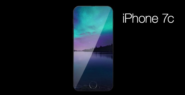 "iPhone 7c ""Fullscreen"" mit randlosem Display (Konzept)"