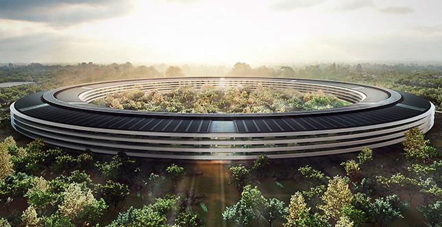 """Neues 4K-Video vom Apple """"Spaceship"""" Campus"""