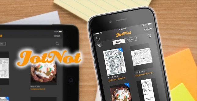 Scanner-App für iPhone & iPad: JotNot aktuell kostenlos