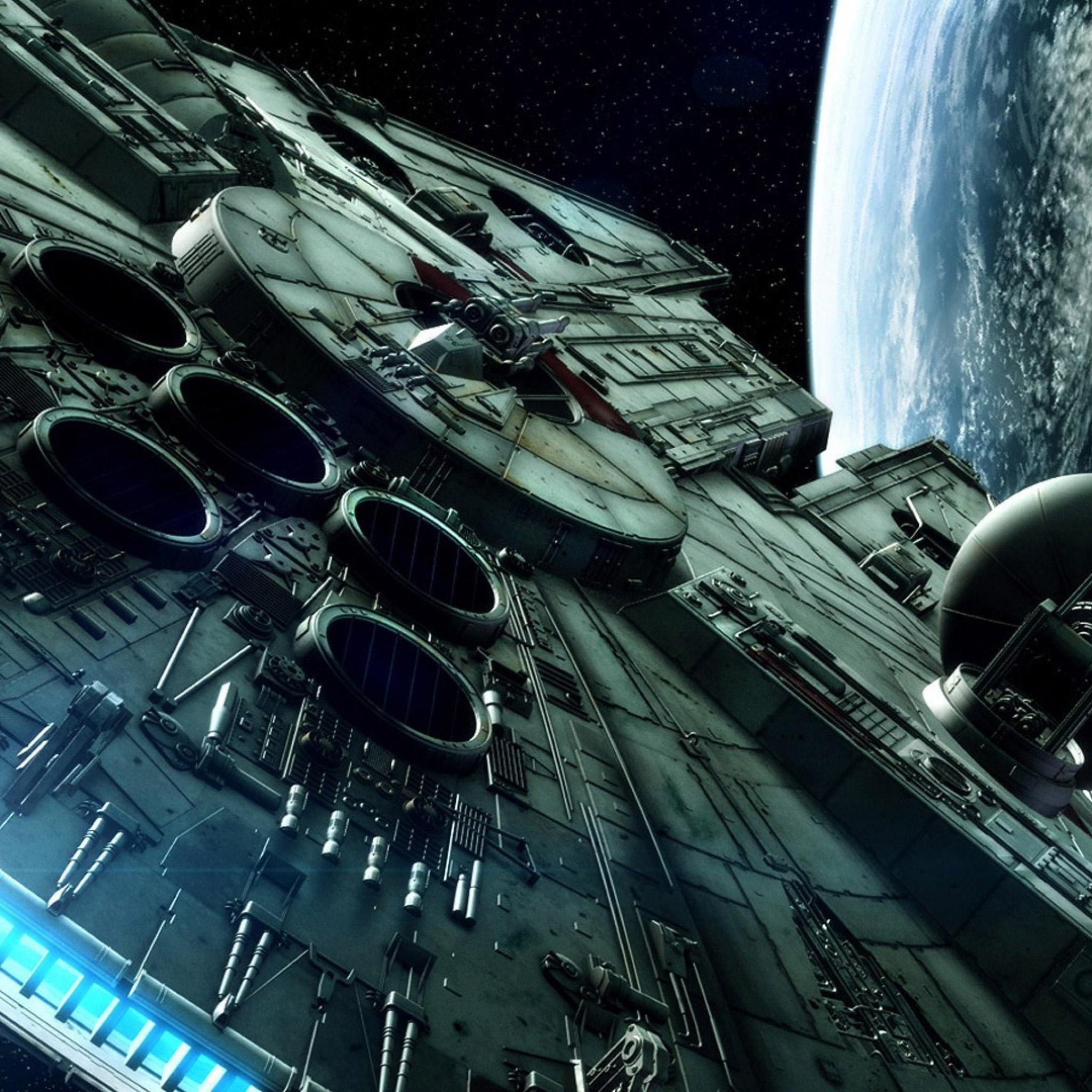 Millenium-Falcon-Star-Wars-iPad