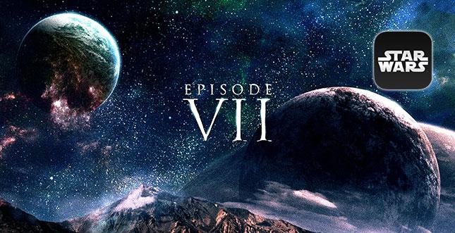 Star Wars Episode VII: iPad Wallpaper Sammlung