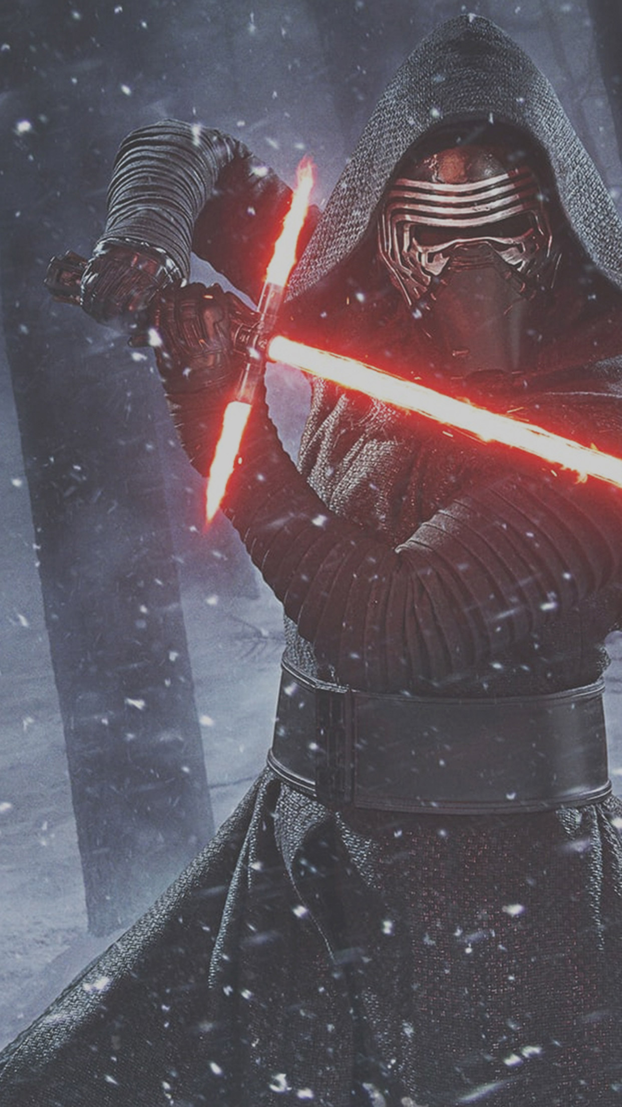 Star-Wars-The-Force-Awakens-Kylo-Ren-Lightsaber-Wallpaper-iDeviceArt