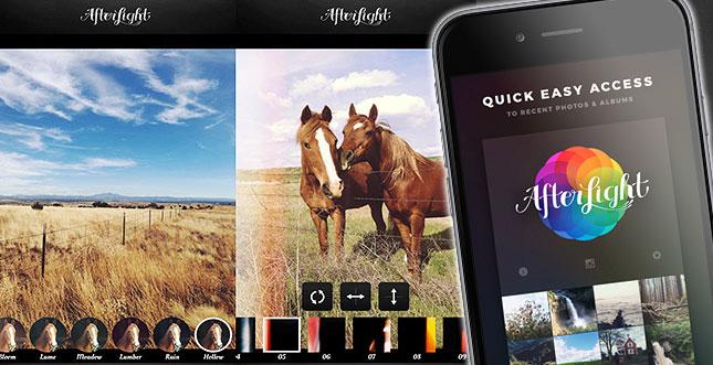 Foto-App Afterlight für iOS aktuell kostenlos
