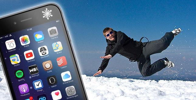 Die größten Gefahren für iPhone & Co im Winter